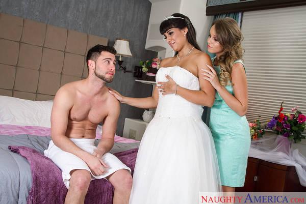 Alexis Adams, Mercedes Carrera & Seth Gamble in Naughty Weddings (2015)