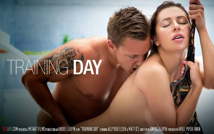 Training Day – Ally Breelsen, Matt Ice (SexArt / 2016)