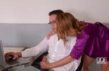 She Needs Juice – Horny Wife Seduces Hard Working Hubby – Ani Blackfox, Kai Taylor