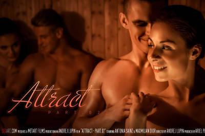 Attract Part 2 – Antonia Sainz, Max Dyor (SexArt / 2016)