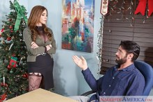 Ariella Ferrera & Charles Dera in Naughty Office (2016)