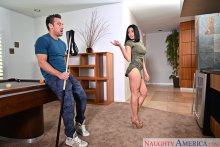 Audrey Bitoni & Johnny Castle in My Friend's Hot Girl (2017)