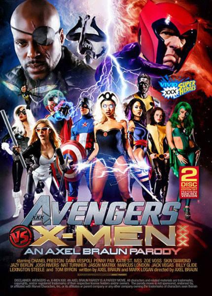 avengers xxx parody