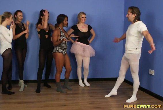Ballet Boner – Chloe Berry, Jade Louise, Kiki Minaj, Klara Belle, Tasha Holz  (PureCFNM / 2016)