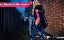 Hot Blonde on the Streets – Barbie Sins (2017)