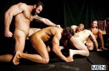 Bottom Buffet ` – Denis Vega, Flex Xtremmo, Jessy Ares, Malek Tobias, Nick North (Men.com / 2015)