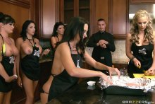 Brazzers House Episode Three – Dani Daniels, Alektra Blue, Missy Martinez (2015)