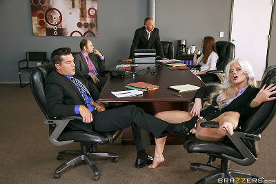 The Meeting – Holly Heart, Ramon Nomar (Brazzers / BigTitsAtWork / 2015)