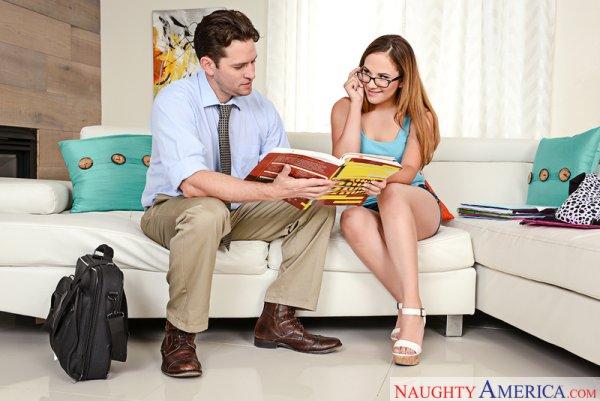 Callie Klein & Preston Parker in Naughty Bookworms