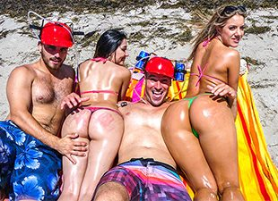 Spring Break Booty – Candice Dare, Sean Lawless (2017)