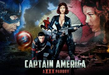 Captain America: A XXX Parody – Peta Jensen (DigitalPlayground / 2016)