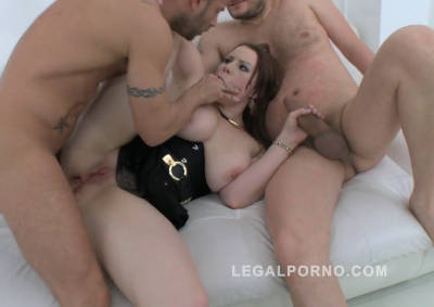 Big butt slut Carol Wings double anal (DAP) with 3 cocks (PAWG anal) SZ1171 (2016)