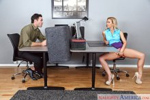 Cherie DeVille & Charles Dera in Naughty Office (2017)