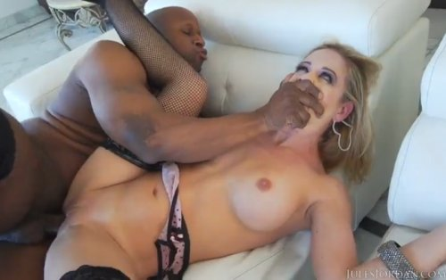 Cherie DeVille Shows Her Love For Big Black Cock, Black Cocks Matter.