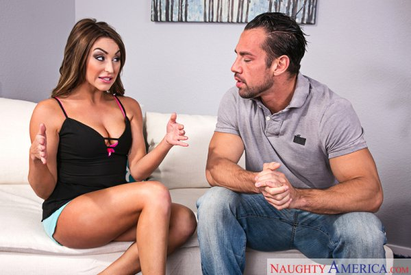 Christiana Cinn & Johnny Castle in My Sister's Hot Friend