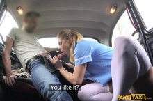 FakeTaxi – Nurse in Sexy Lingerie has Car Sex – Crissy Fox, Lutro (FakeHub / 2017)