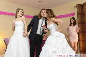 Dillion Harper, Kimmy Granger & Tyler Nixon in Naughty Weddings (NaughtyAmerica / 2016)