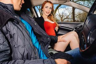 British Redhead Sucks Cock – Ella Hughes, Marc Rose (Mofos / StrandedTeens / 2016)