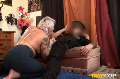 FakeCop – Inked up and fucked deep in the ass (FakeHub / 2015)