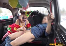 FakeTaxi – Driver Fucks Cute Valentine Clown – Lady Bug (FakeHub / 2017)