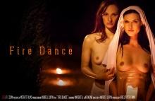 Fire Dance – Ariadna, Margot A (SexArt / 2016)