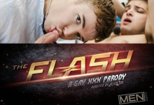 The Flash : A Gay XXX Parody Part 1 – Gabriel Cross, Johnny Rapid (2016)
