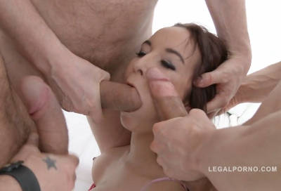 Francis Belle first time in studio: rough anal fucking & DP SZ1180 (2016)