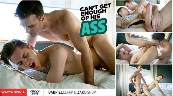 Gabriel Clark Fucks Zak Bishop