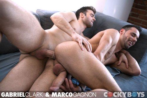 Gabriel Clark Fucks Marco Gagnon