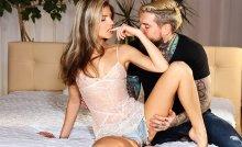 Sensual blowjob and intimate fuck – Gina Gerson, Dean Van Damme (2017)