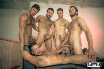Howl – Part 4 – Colby Keller, Dato Foland, Gabriel Clark, Jessy Ares, Paddy OBrian (Men.com / 2015)