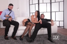 The Bound Cuckold – A Horny Wife's Deep Throat Affaire – Jasmine Jae, Ryan Ryder & Mugur (2016)