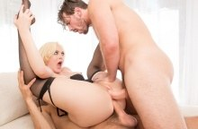 Jenna Ivory Loves Being In A DP Sandwich (2016)