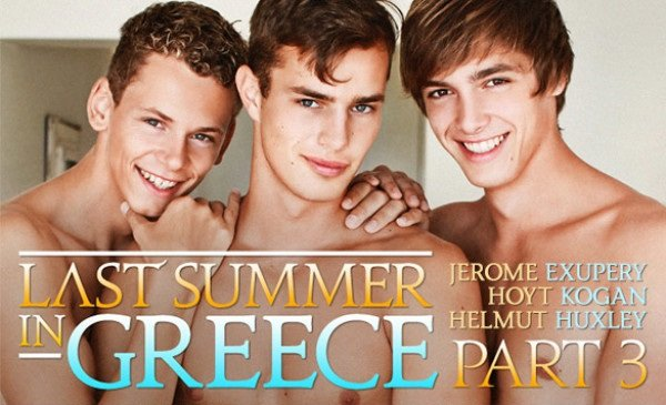 Last Summer In Greece, Part 3 – Jerome Exupery, Hoyt Kogan, Helmut Huxley