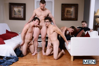 My New Stepdad Is A Pervert, Part 4 – Adam Herst, Johnny Rapid, Scott Harbor, Will Braun, Travis Stevens