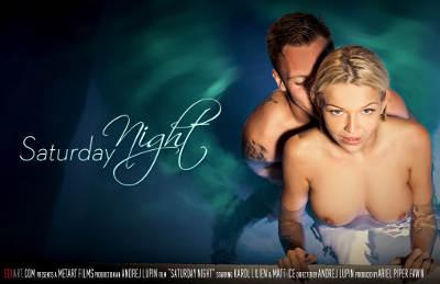 Saturday Night – Karol Lilien, Matt Ice (SexArt / 2016)