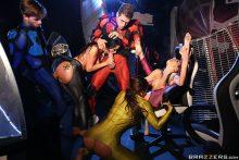 Power Bangers: A XXX Parody Part 5 – Abigail Mac, Katrina Jade, Kimmy Granger, Lucas Frost & Xander Corvus (2017)
