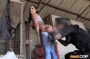 FakeCop – Farmer's Slut Fucks Cop's Truncheon – Kimmie (FakeHub / 2016)
