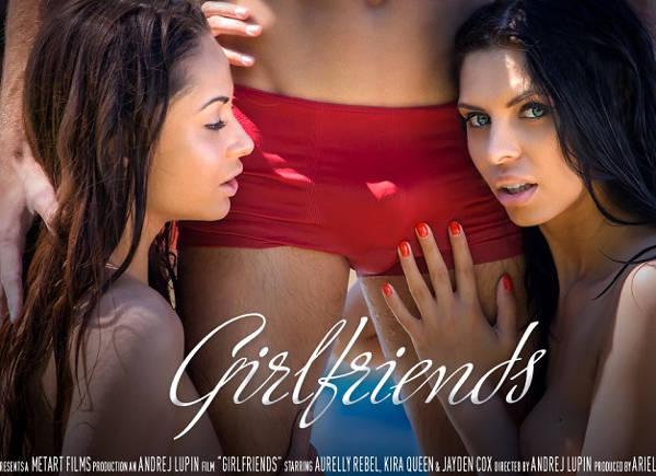 Girlfriends – Aurelly Rebel, Kira Queen, Jayden Cox (SexArt / 2015)