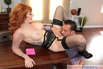 Lauren Phillips & Johnny Castle in Naughty Office (NaughtyAmerica / 2016)