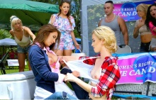 Catfight on Campus – Haley Reed, Layla London, Mila Marx (2016)