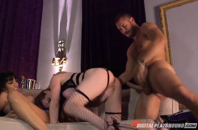 Let It Ride – Scene 4 – Mercedes Carrera, Veronica Vain & Danny Mountain (2016)