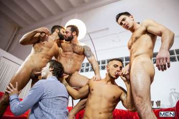 Lost Boy – Part 3 – Hector De Silva, Jessy Ares, Klein Kerr, Paddy OBrian & Will Braun (Men.com / 2016)