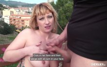ChicasLoca – Wild hard outdoor fuck with big titted Spanish blondie Lucia Fernandez (2017)