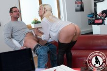 ExposedCasting – Busty Czech Lucy Shine enjoys anal and cum on tits in steamy audition – Lucy Shine, David Perry (2017)