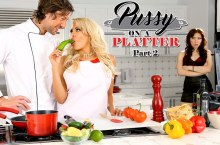 Pussy On A Platter Part 2 – Luna Star, Aria Alexander & Jean Val Jean (2016)
