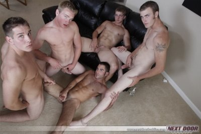 Hottest Fuckfest – Justin Ryder, Christian Wilde, Marcus Mojo, Dylan McLovin and Aaron Skyline