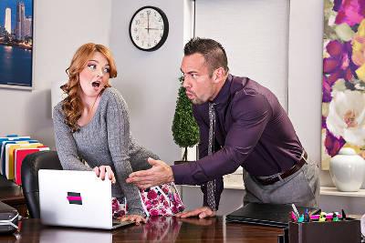 Marie McCray & Johnny Castle in Naughty Office (NaughtyAmerica / 2015)