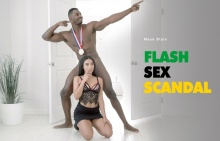 Flash Sex Scandal – Maya Bijou, Jax Slayher (2016)