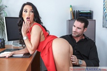 Megan Rain & Charles Dera in Naughty Office (2016)